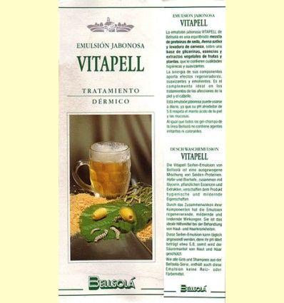 Emulsión jabonosa Vitapell - Bellsolá - 250 ml