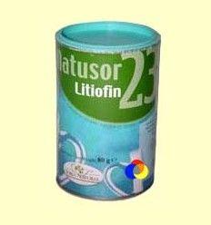 Natusor 23 Litiofin - Soria Natural - 80 gramos