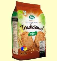 Pan Grille Bio Tradicional - Santiveri - 300 gramos