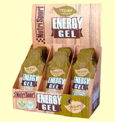 Vegan Energy Gel - Aporte Energético - NutriSport - 18 sobres
