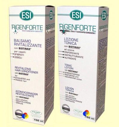 Rigenforte Pack Anticaída del Cabello Acondicionador + Loción Tónica - Esi - 150ml