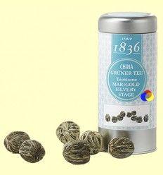 Té Floreciente Marigold Silvery Stage - D&B - 10 flores