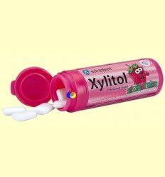 Chicles Xylitol AntiCaries para Niños Sabor Fresa - Miradent - 30 unidades