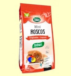 Mini Roscos Originales Bio - Santiveri - 180 gramos