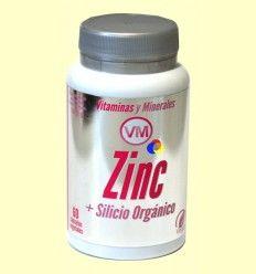 Zinc + Silicio Orgánico - Ynsadiet - 60 cápsulas