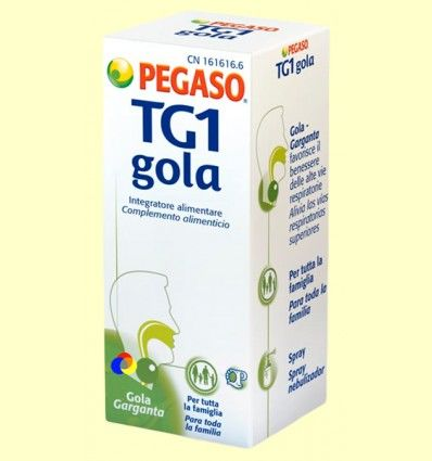 TG1 Gola Spray - Garganta - Pegaso - 30 ml