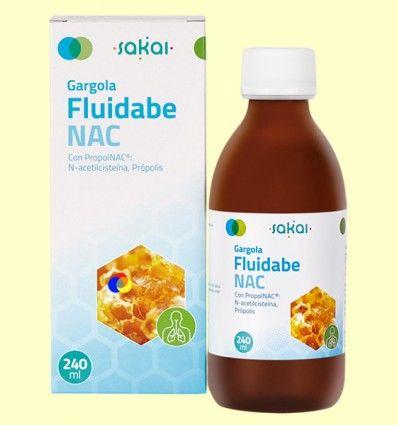 Gargola Fluidabe NAC - Mucosidad - Sakai - 240 ml