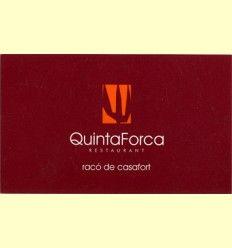 Restaurante QuintaForca - Casafort - Nulles - Tarragona