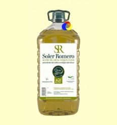 Aceite de Oliva Virgen Extra - Soler Romero - Garrafa PET de 5 Litros
