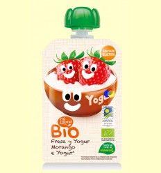 Pouch de Fresa y Yogurt - Mi Menú - 100 gramos