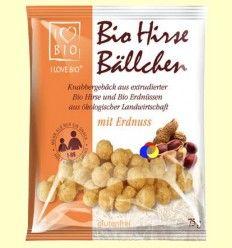 Bolitas de Mijo con Cacahuetes - Sottolestelle - 75 gramos