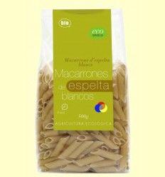 Macarrones Espelta Blancos - Eco Basics - 500 gramos