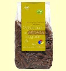 Macarrones Espelta Integrales - Eco Basics - 500 gramos