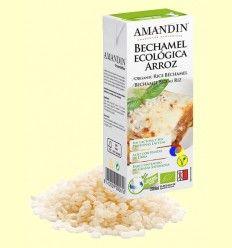 Bechamel de Arroz Ecológica - Amandin - 200 gramos