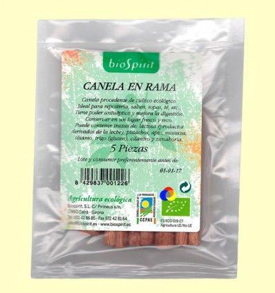 Canela en Rama Ecológica - BioSpirit - 5 piezas