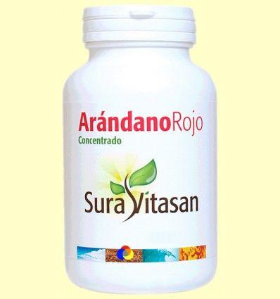 Arandano Rojo 600 mg - Sura Vitasan - 30 cápsulas *