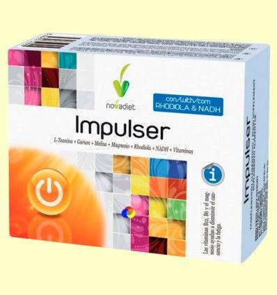 Impulser - Sistema Nervioso - Novadiet - 60 cápsulas