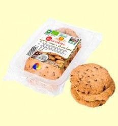 Cookies de avena, coco y chocolate bio - Vegetalia - 140 gramos