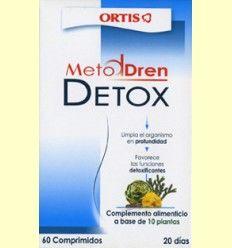 Metodren Detox - Ortis - 60 comprimidos