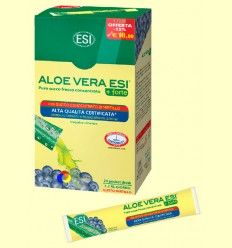 Zumo Aloe Vera Forte Mirtilo Pocket Drink - Laboratorios ESI - 24 Pocket Drink