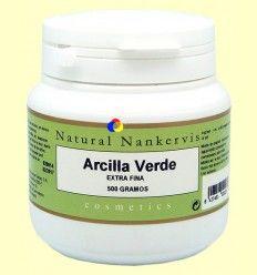Arcilla Verde Extra Fina - Natural Nankervis - 500 gramos