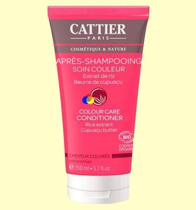 Acondicionador Cuidado del Color Bio - Cattier - 150 ml