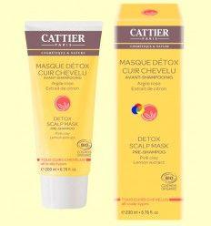 Mascarilla Detox Cuero Cabelludo Prechampú Bio - Cattier - 200 ml