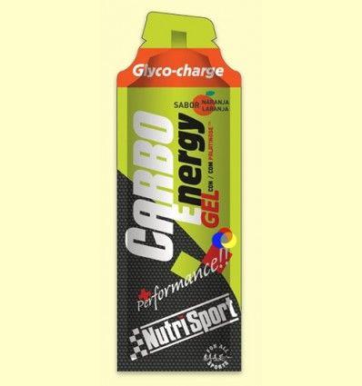 Carbo Gel Naranja - Nutrisport - 66 ml
