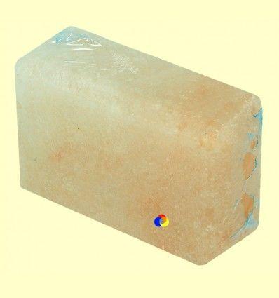 Pastilla de Sal del Himalaya Rectangular - Tierra 3000 - 300 gramos