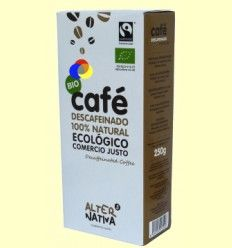 Café Descafeinado Molido Bio - Alter Nativa 3 - 250 gramos