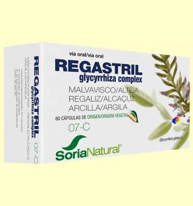 Regastril Glycyrrhiza Complex - Soria Natural - 60 cápsulas