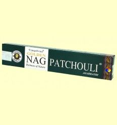 Incienso Golden Nag Patchouli - Vijayshree - 15 gramos