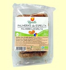 Palmeras de Espelta Bio - Vegetalia - 150 gramos