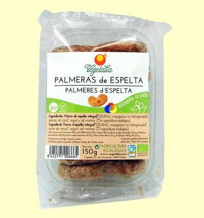 Palmeras de Espelta Bio - Vegetalia - 140 gramos