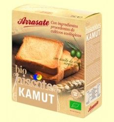 Biscotes Kamut Bio - Arrasate - 270 gramos