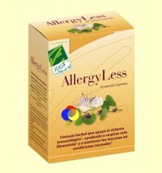 AllergyLess - 100% Natural - 60 cápsulas