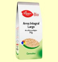 Arroz Integral Largo Bio - El Granero - 1 kg