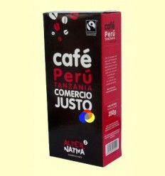 Café de Perú y Tanzania Molido - Alter Nativa 3 - 250 gramos