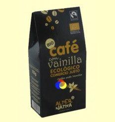Café Aromatizado a la Vainilla Molido Bio - Alter Nativa 3 - 125 gramos