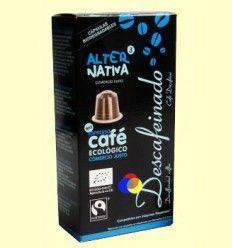 Cápsulas de Café Descafeinado Bio - Alternativa3 - 10 cápsulas