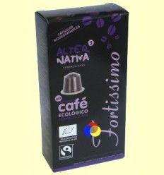 Cápsulas de Café Fortissimo Bio - Alter Nativa 3 - 10 cápsulas