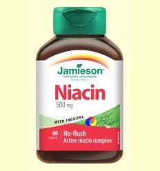 Niacina + Inositol 150 mg - Jamieson - 60 comprimidos