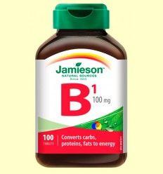 Vitamina B1 (Tiamina) 100 mg - Jamieson - 100 comprimidos
