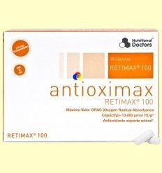 Antioximax Retimax 100 - Antioxidante - Nutritional Doctors - 60 cápsulas