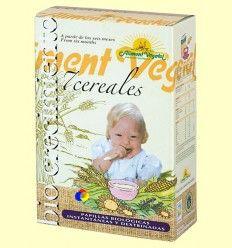 Papilla de 7 cereales con miel Bio - Biocrecimiento - 400 gramos