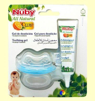 Gel de Dentición y Mordedor Bebé - Nuby - 15 ml
