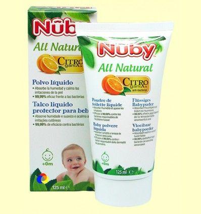 Polvo líquido para Bebés - Nuby - 125 ml
