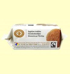 Galletas de Jengibre Bio Sin Gluten - Doves Farm - 150 gramos