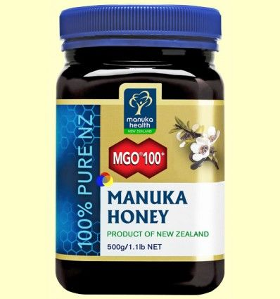 Miel de Manuka MGO 100+ Manuka Honey - Manuka World - 500 gramos