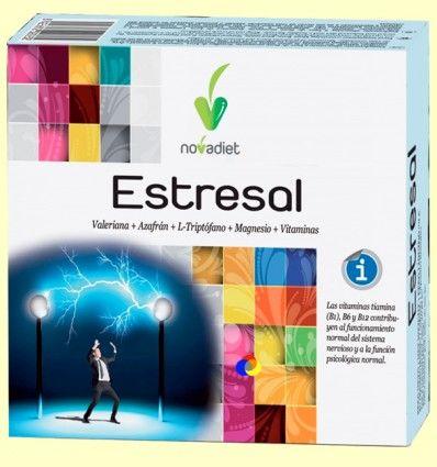 Estresal - Sistema Nervioso - Novadiet - 60 cápsulas